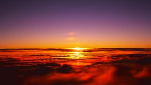 Flying Sunrise by Luoma