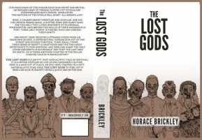 The Lost Gods Book Cover by Drawingremy