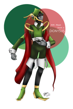 MM - Dionysus [Rank 3 Persona] by The-Empty-Sky