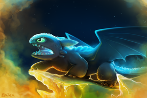 Toothless by Epifex
