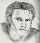 Heath Ledger by ashixi