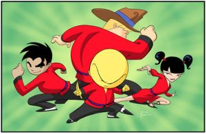 Xiaolin Showdown crew by MBorkowski