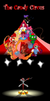 Candy Circus Poster by Tickity-Tock