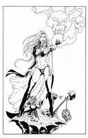 Lady Death by KenHunt