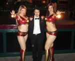 Tony Stark Seen with Two of his Ironettes... by ArtfulAnarchy