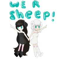 We-are-sheep by tevyclemmons