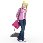 Usagi Tsukino 'Pretty in Pink' casual by Mikey186
