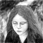 Nikky Portrait in Pencil by kwikdraw