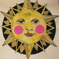 The sun with pink cheeks by AnalieKate