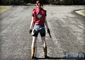 Desolate Streets-RE: DC Claire Redfield Cosplay by Hamm-Sammich