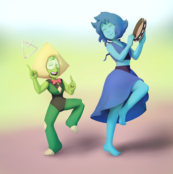Peri and Lapis by TresenellaArt