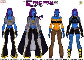 Enigma Series - Part Four by SavageMouse