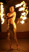 Golden Fire Angel by aliceinflames