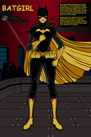 Batgirl by Mad-Man-with-a-Pen
