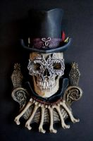 Baron Samedi, painted by DellamorteCo