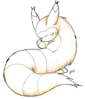 Cleaning Furret by nepryne
