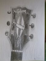gibson headstock by SusHi182