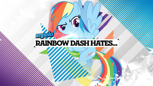 Rainbow Dash Hates... by impala99