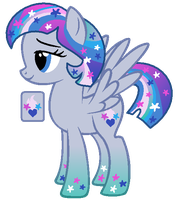 Starhearted - Universe Pony Trade by MonkFishyAdopts