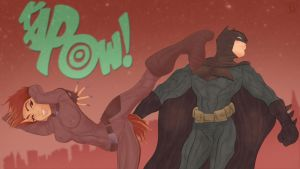 Genesis takes down the Batman by jackcrowder