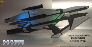 Mass Effect Phaeston Rifle Prop (1) by Euderion