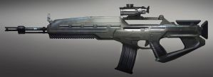 FUSE Standard Rifle Prototype by MeckanicalMind