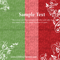 Greeting Card Design Template by 123freevectors