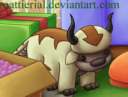 Avatar Advent Calendar: Day 4: Appa by Mattierial