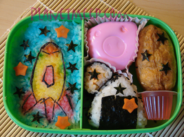 Rocketship Bento by PlanetMeep