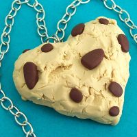 I Heart Cookie Dough Necklace by beatblack