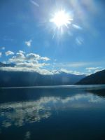 Bright and sunny on the lake~ by Matthew-Fuller