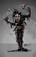Zop-Culture Edward Scissorhands by DanielMead