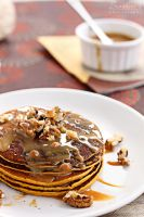 Pumpkin pancakes by kupenska
