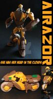 TFA Beast Wars Airazor by Gizmo-Tracer