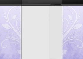 White Abstract YT BG by xXLolipopGurlXx