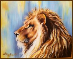 The Lion by m1eme1m