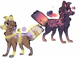 PRICE LOWERED Dog adopts *CLOSED* by Flare-goes-OM-adopts