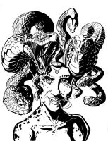 gorgon girl by cereal199