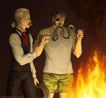MGS - Camp Fire by purinrinrin