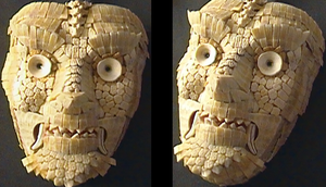 Dasypus Mask 03 by ClaudioTurcovich