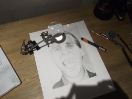 Best Tool ever + Christian Bale WIP by HarryMichael
