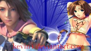Sexy-Yuna PSP_ Wallpaper by kevin4