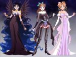The Princess, Vampire, and the Demon by xNeon-Rainbowx