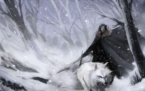 Jon Snow by failstarforever