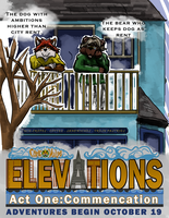 Elevations Act 1: Dog and Bear Poster by MikeFolf