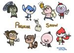 Regular show stickers by Kauritsuo