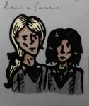 Young Lucius and Severus by ICannotDrawToSaveMe