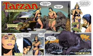 Tarzan Return to Opar by JungleCaptor