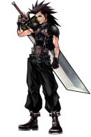 Zack Dissidia full fixed by JoeShiba