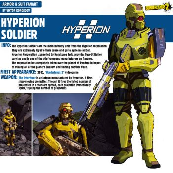 Hyperion Soldier|Borderlands 2 by Pino44io
